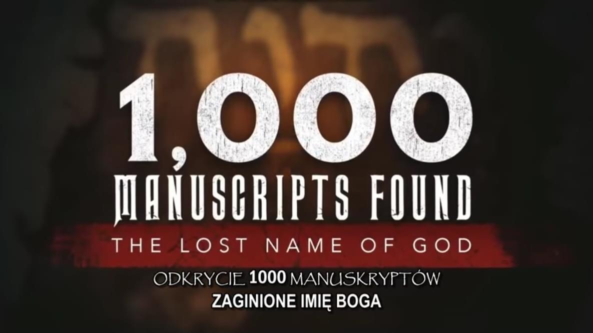 Odkrycie 1000 manuskryptów