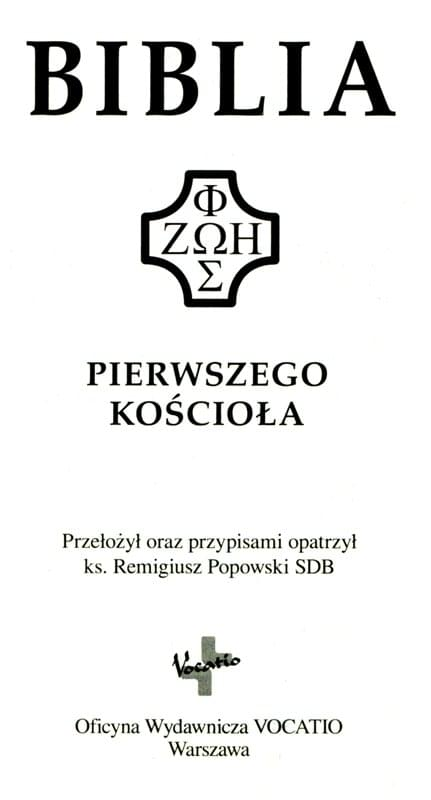 Pismo Święte Nowego Testamentu ks. Popowski