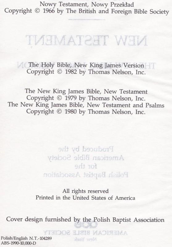 Nowy Testament New Testament