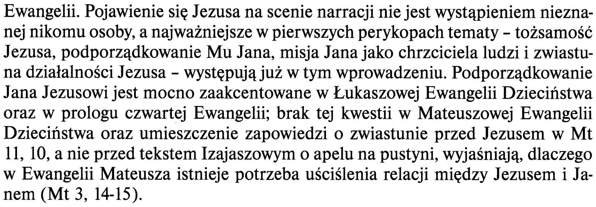 Ewangelia Według Świętego Marka