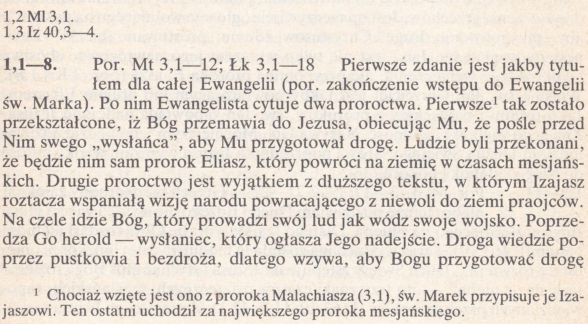 Ewangelia wg św. Marka
