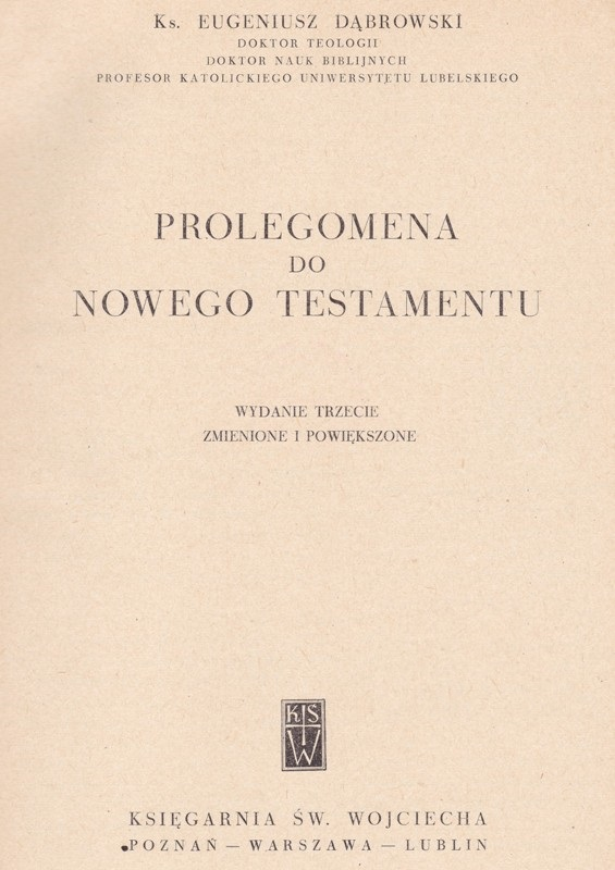 Prelogemona Nowego Testamentu