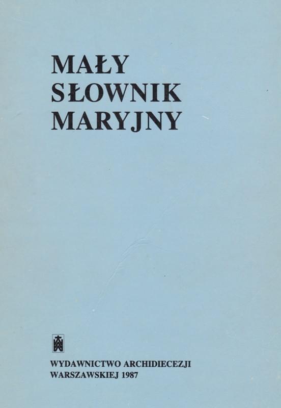 Mały Słownik Maryjny