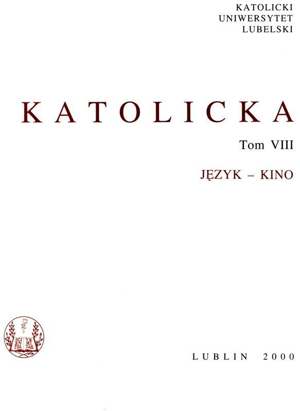 Encyklopedia Katolicka t.VIII