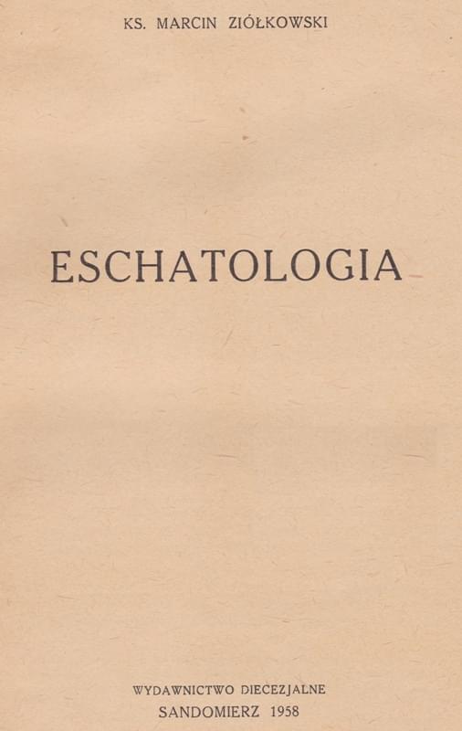 Eschatologia