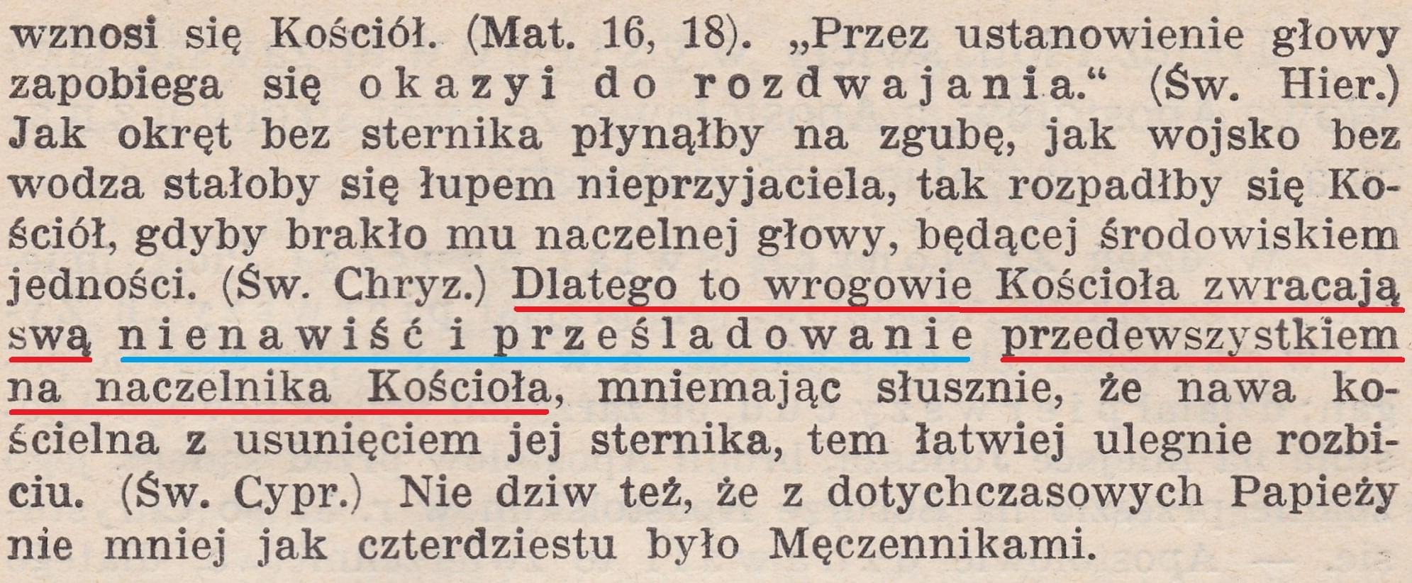 Katechizm Katolicki dla Ludu Bożego - ks. Franiszek Spirago