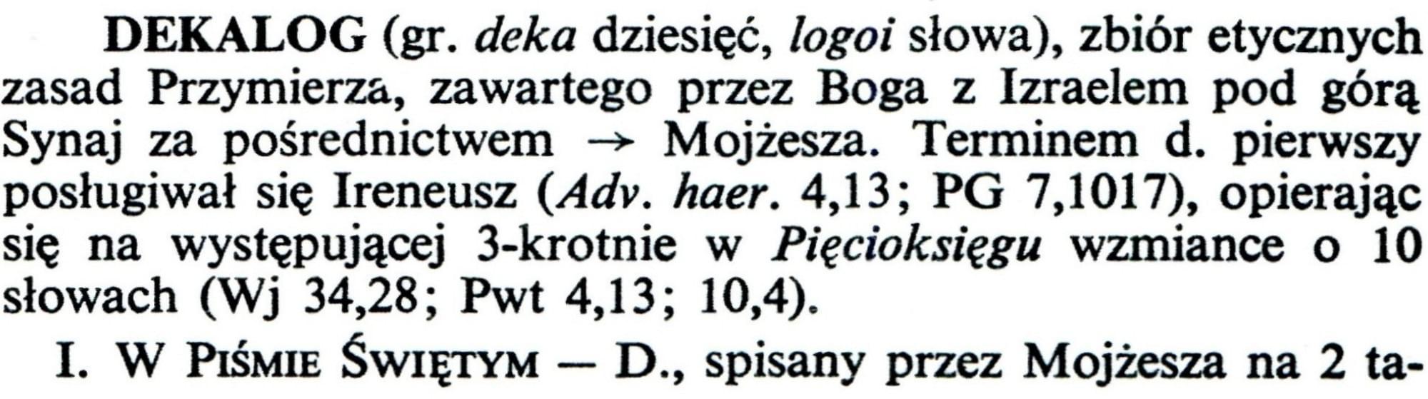Encyklopedia Katolicka Tom III