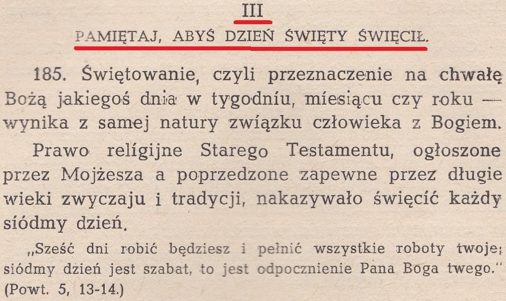 Katechizm życia chrześcijańskiego wyd.1949