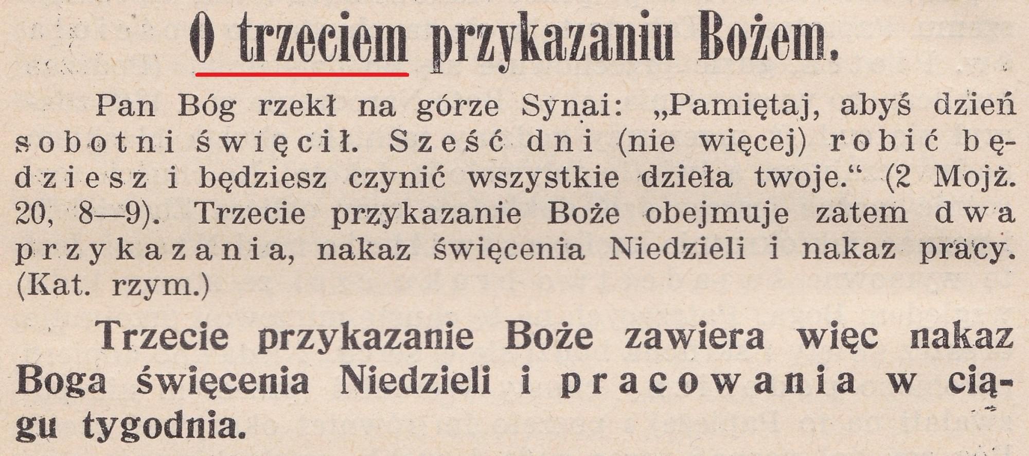 Katechizm wyd. 1914