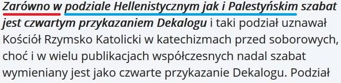 Zmanipulowany Dekalog