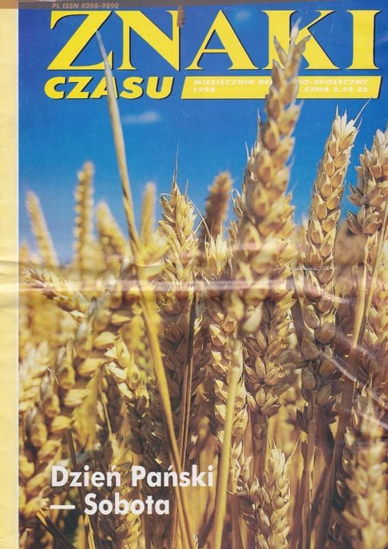 Znaki Czasu Wrzesień 1998