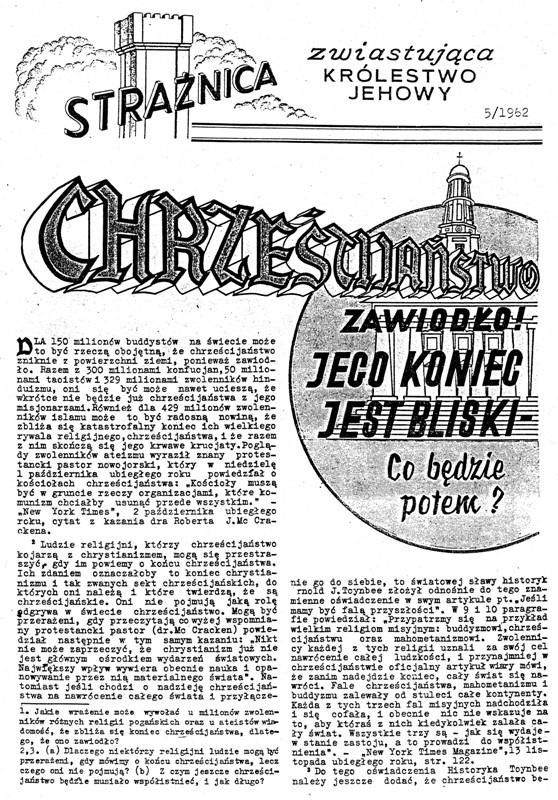 Strażnica 1962 Nr 5