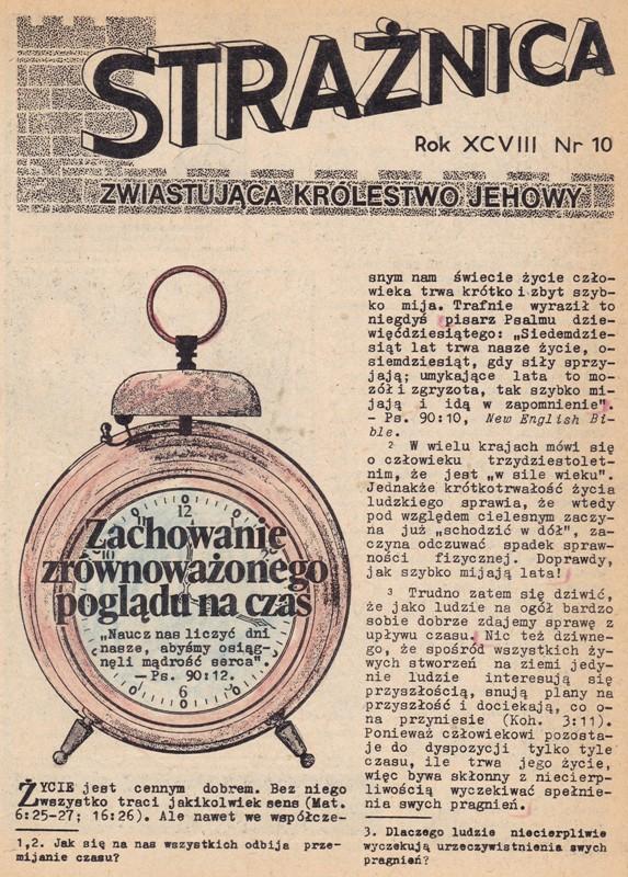 Strażnica 1977 Nr 10