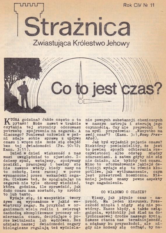 Strażnica 1983 Nr 11