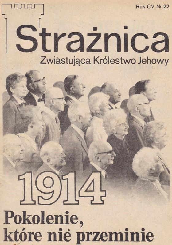 Strażnica 1984 Nr 22