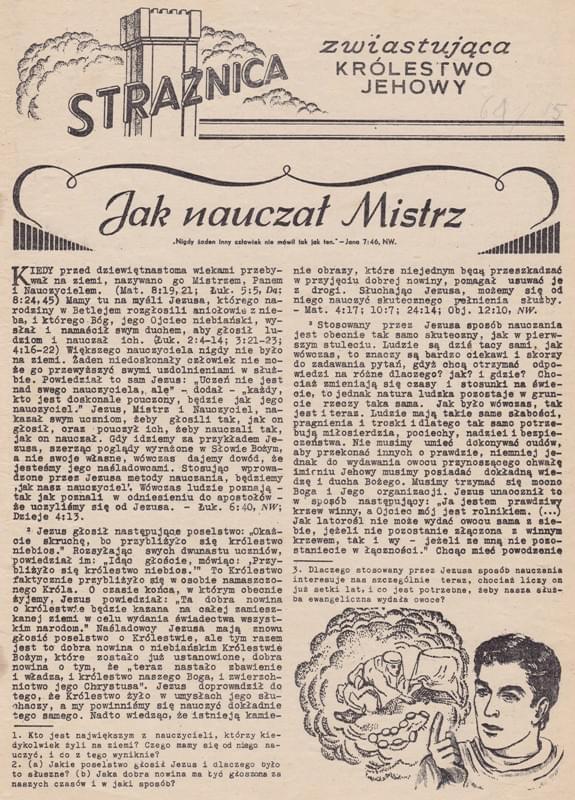 Strażnica 1961 Nr 15