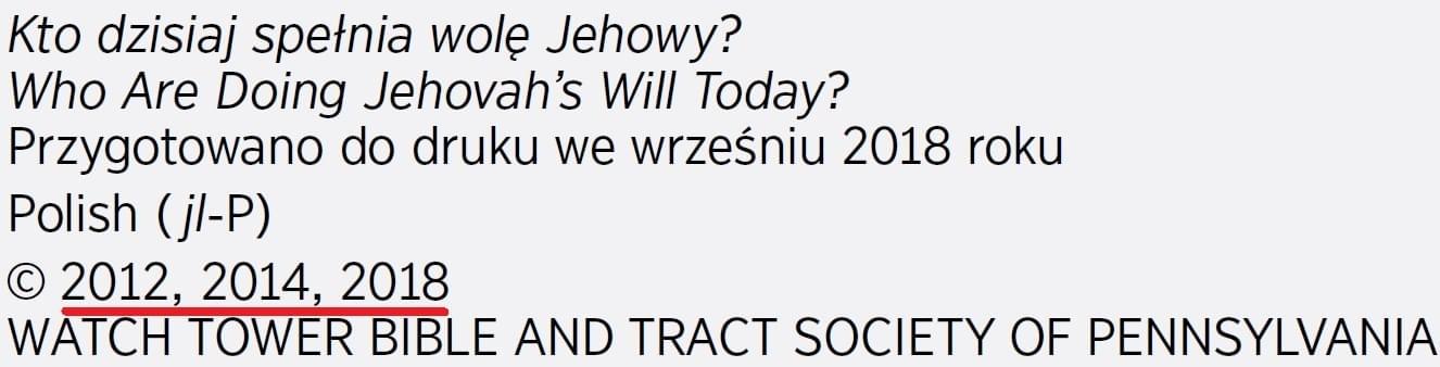 Kto dzisiaj wykonuje wolę Jehowy