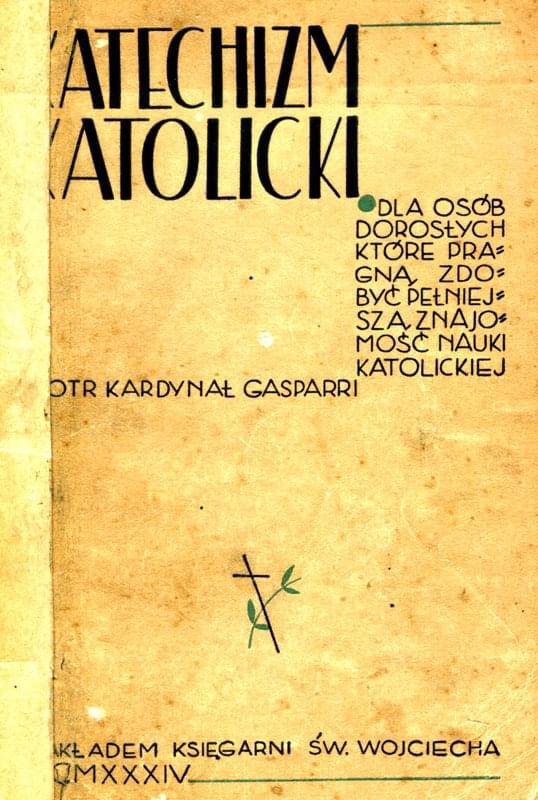 Katechizm Katolicki kard. Gaspari