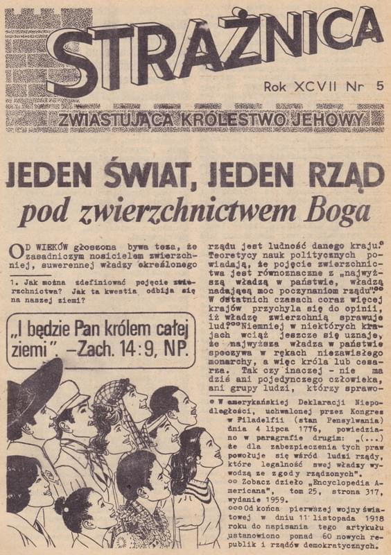 Strażnica 1976 Nr 5