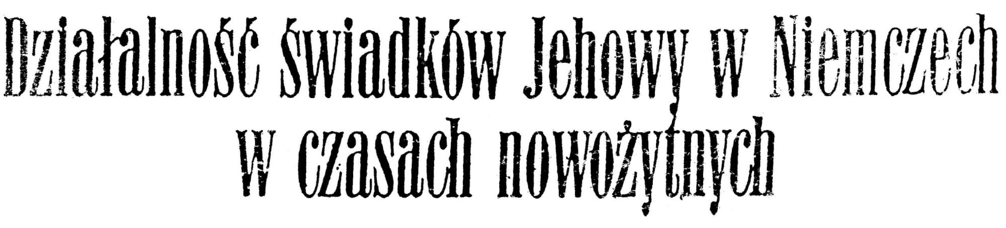 Działalność Świadków Jehowy w Niemczech w czasach nowożytnych 1975