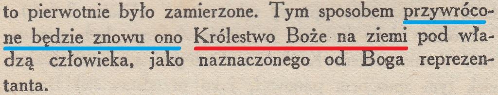 Boski Plan Wieków wyd. 1917