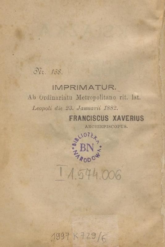 Książka do nabożeństwa wyd. 1884