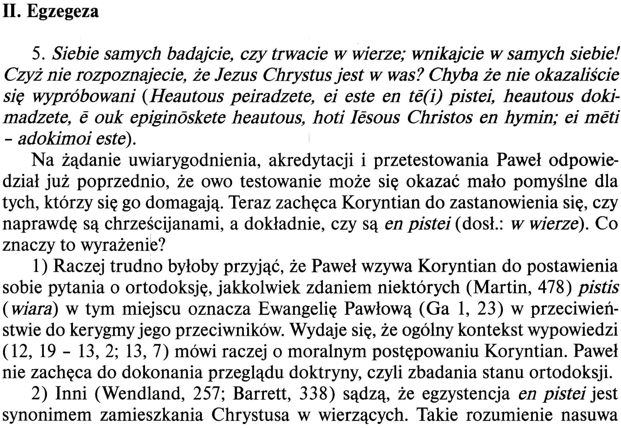 Drugi List do Koryntian wyd. św, Paweł