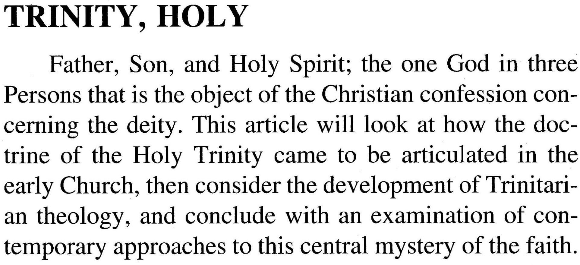 New Catholic Encyclopedia