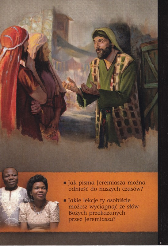 Jeremiasz przekazuje nam słowo od Boga