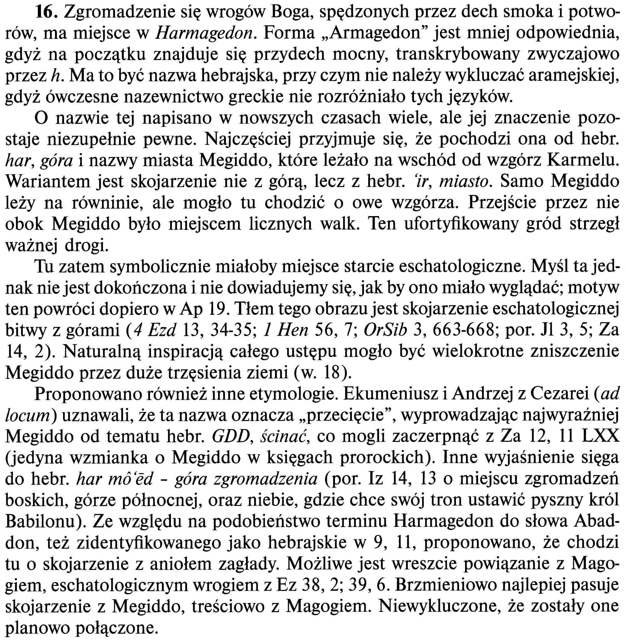 Apokalipsa św. Jana, Edycja św. Pawła
