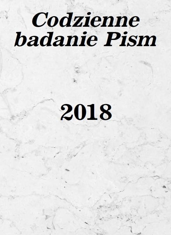 Codzienne Badanie Pism 2018