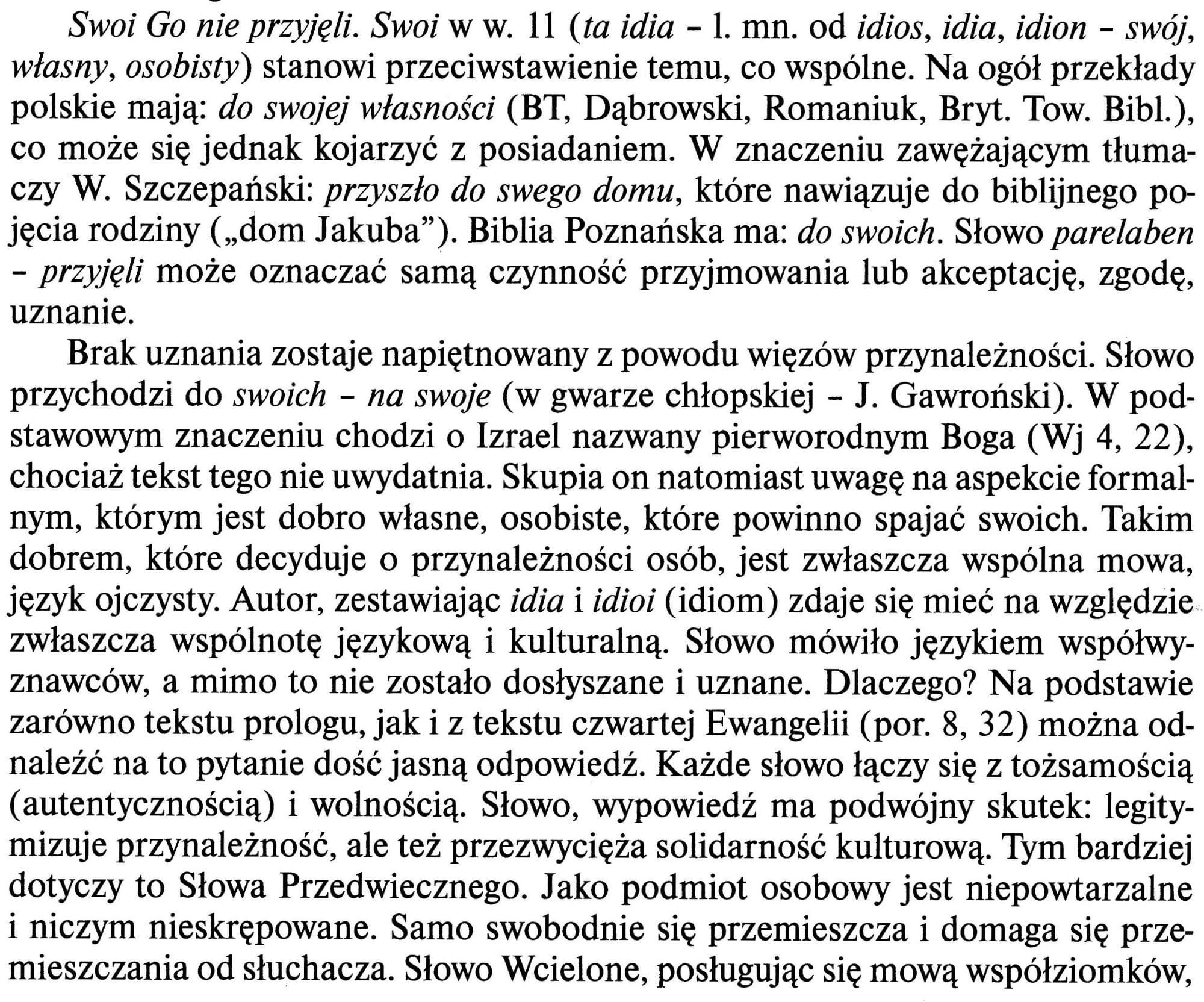 Ewangelia wg. św. Jana