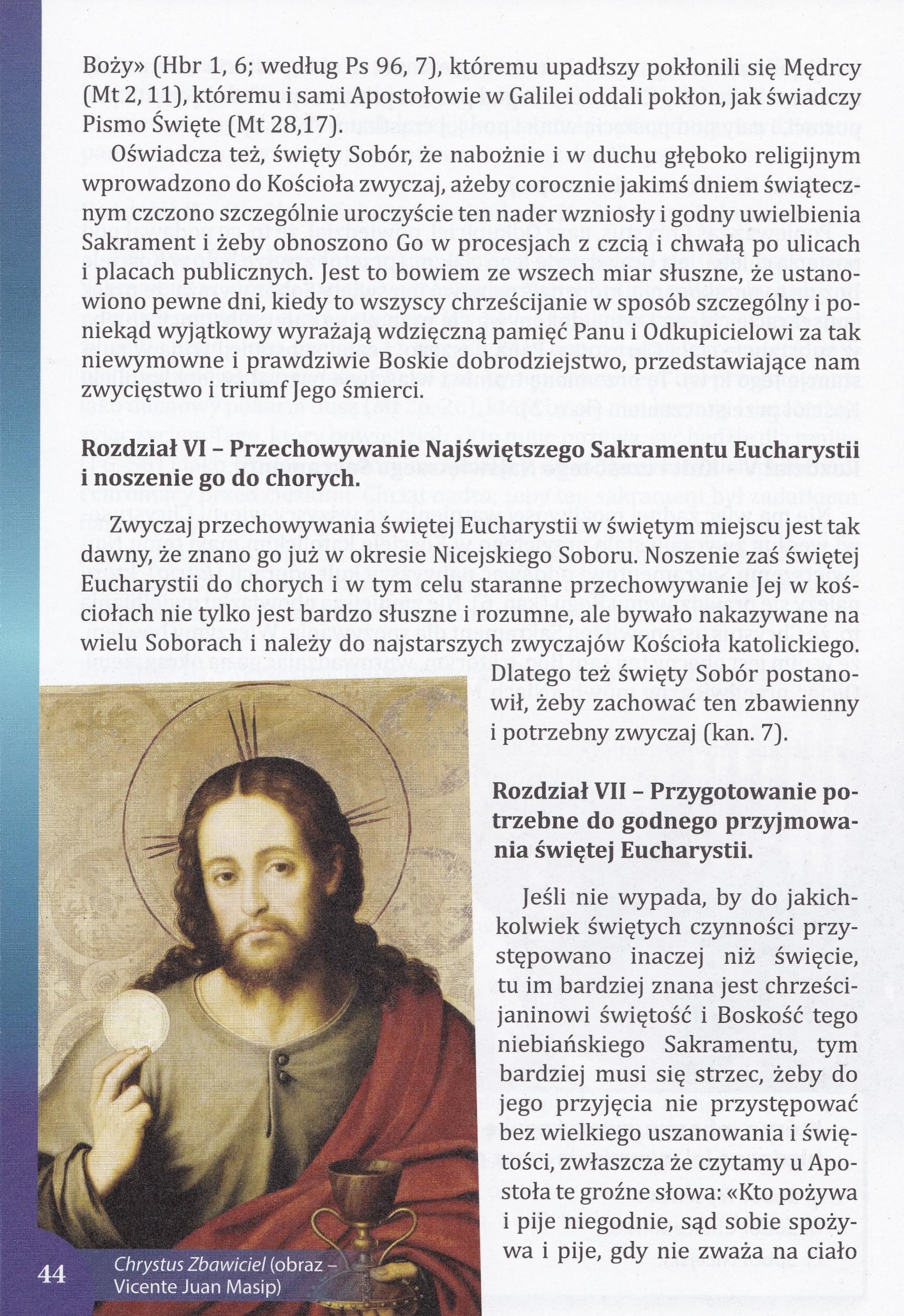 Wszystko o Eucharystii