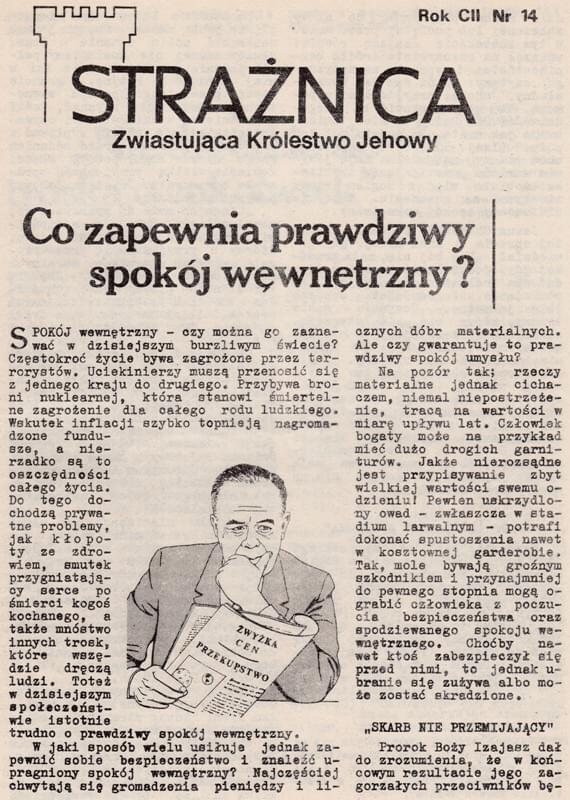 Strażnica 1981 Nr 14