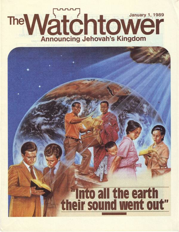 Watchtower January 1, 1989