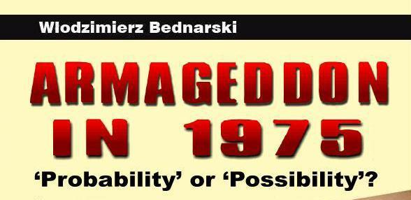 Armageddon in 1975 probability or possibility