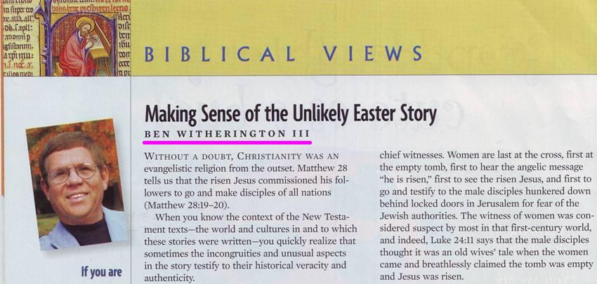 Biblical Archaeology Review