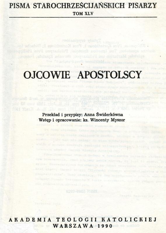 Ojcowie Apostolscy