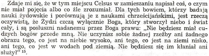 Orygenes Przeciw Celsusowi