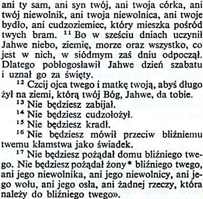 Biblia Tysiąclecia