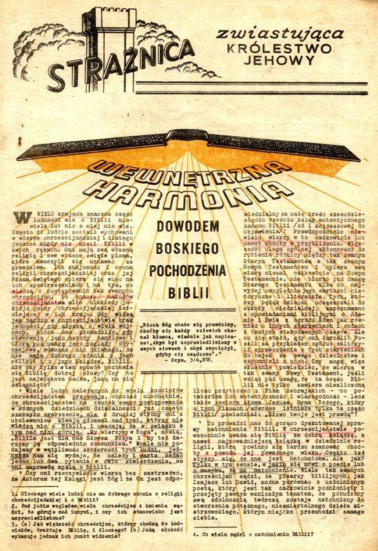 Strażnica 1964 Nr 1