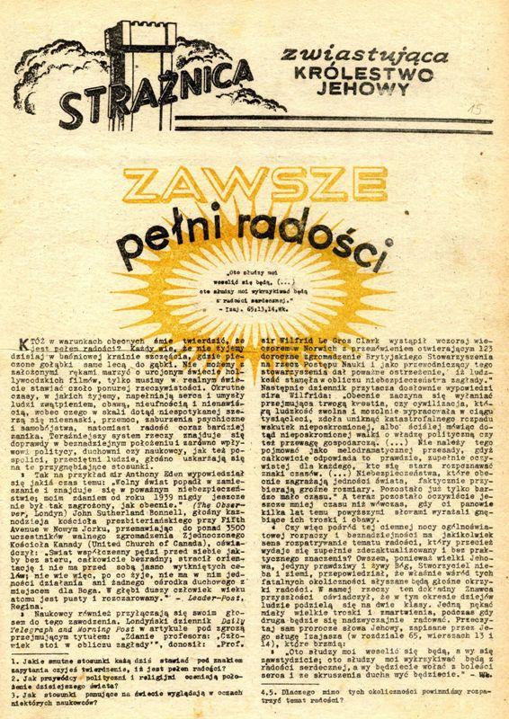 Strażnica 1966 Nr 15