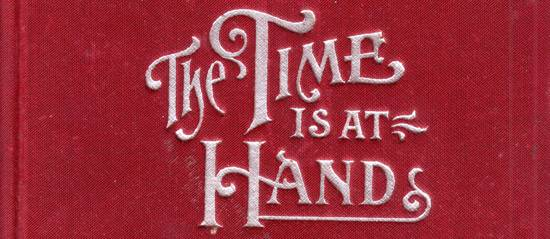 The Time Is At Hands