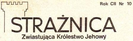 Strażnica 1981 Nr 10