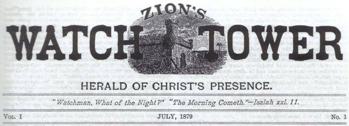 Zion's Watchtower July, 1879 Nr 1