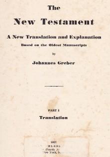 Nowy Testament Johannes Greber