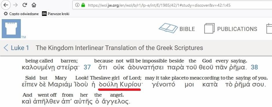 Interlinia grecko-angielska